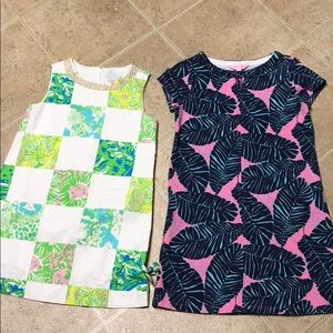 TWO Lily Pulitzer dresses little girls